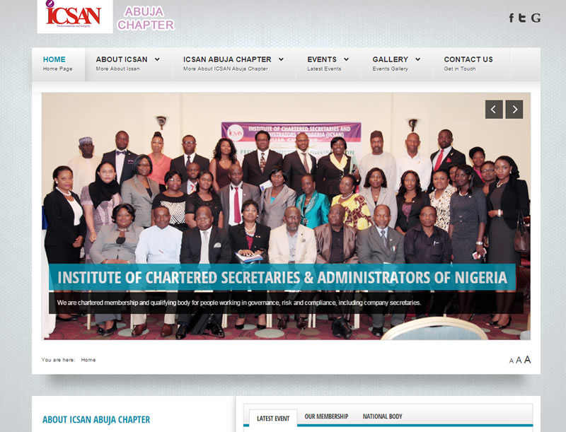 ICSAN Abuja Chapter